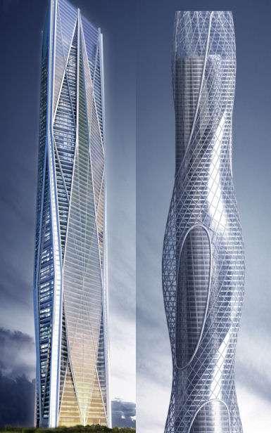 Rotating Skyscrapers