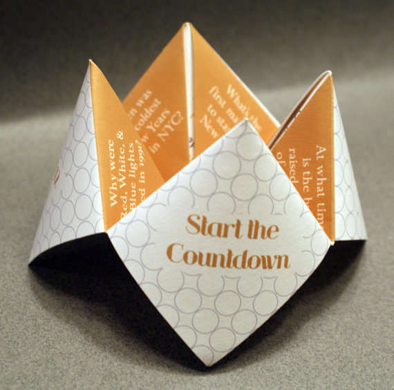 Invitational Origami Countdowns