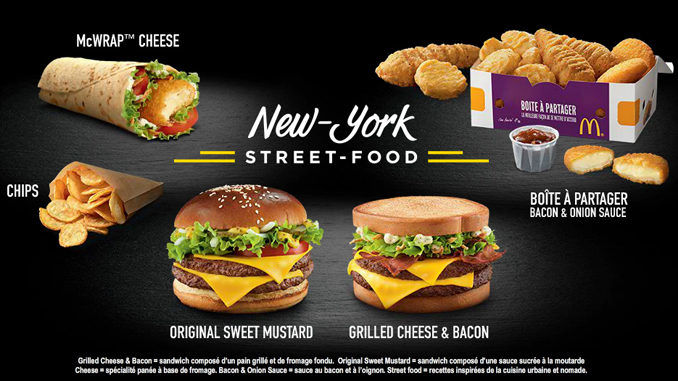 New York-Themed Menus
