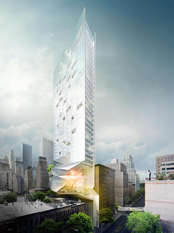Slender Multipurpose Skyscrapers