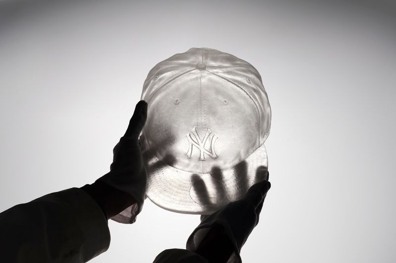 Translucent Baseball Team Sculptures