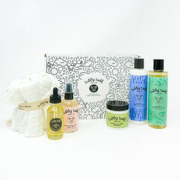 Natural Infant-Focused Care Kits