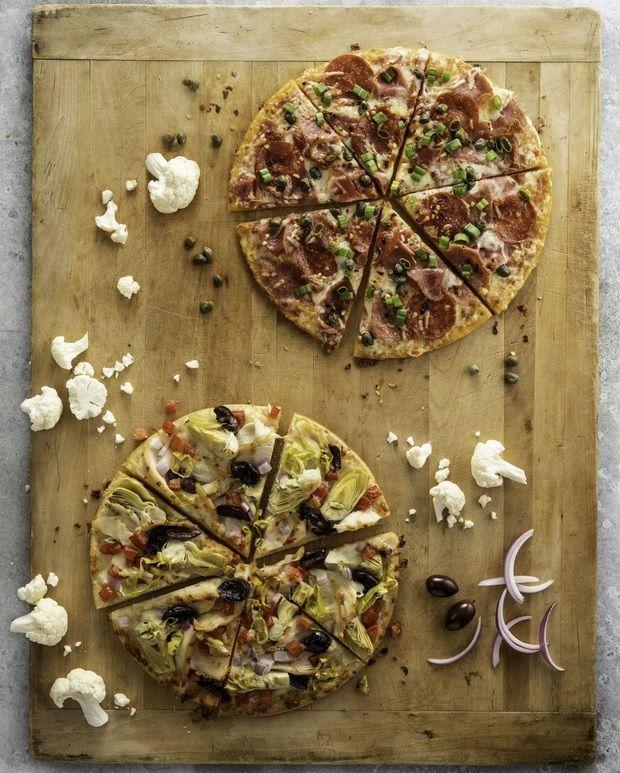 Nutritious Cauliflower Pizza Crusts