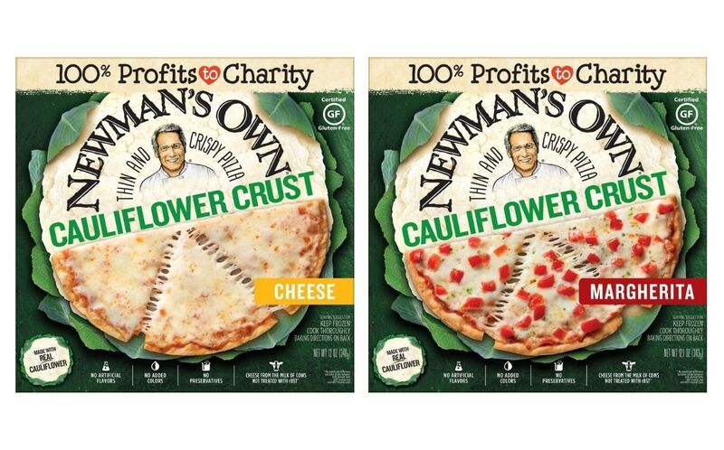 Crispy Mainstream Cauliflower Pizzas