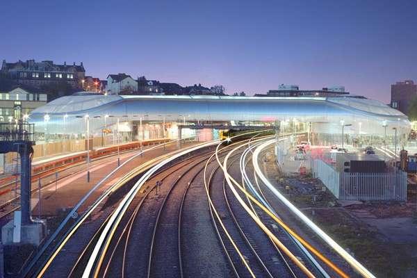 Spiraling Transit Stations