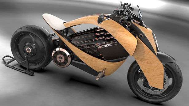 Organically Accented Motorcycles