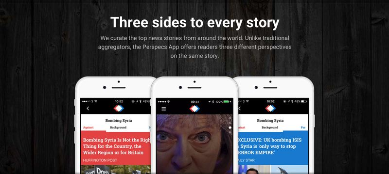 Bias-Eliminating News Apps