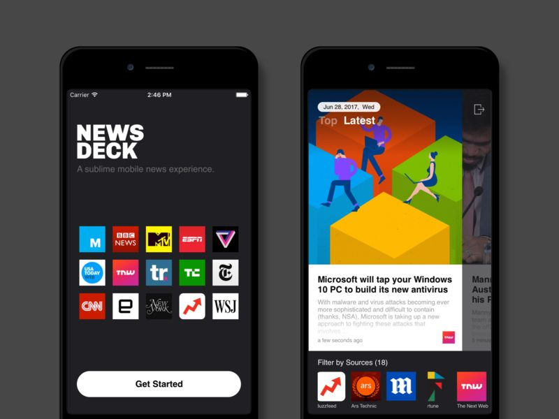 Wide-Reaching News Apps