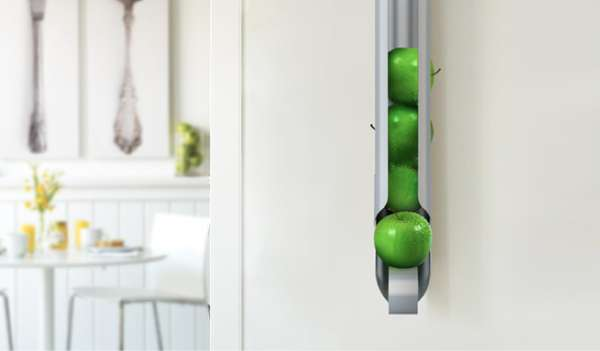 Wall Mounted Fruit Bowls Newton Fruit Holder