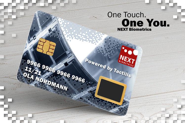 Fingerprint-Sensor Smart Cards