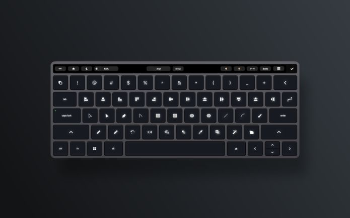 Adaptable Smart Keyboard Concepts