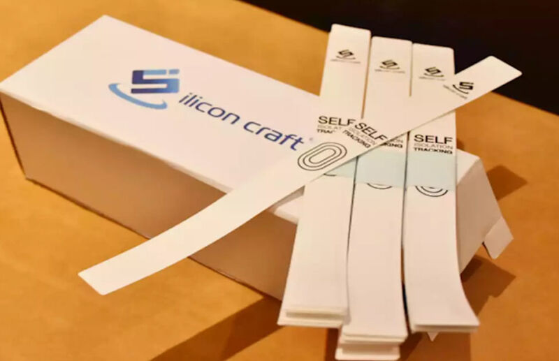 Patient-Tracking NFC Wristbands