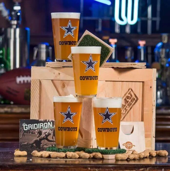 Football-Themed Bar Sets