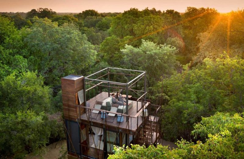 Spacious South African Treehouses