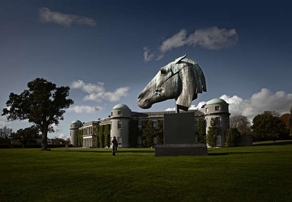 Giant Equine Statues