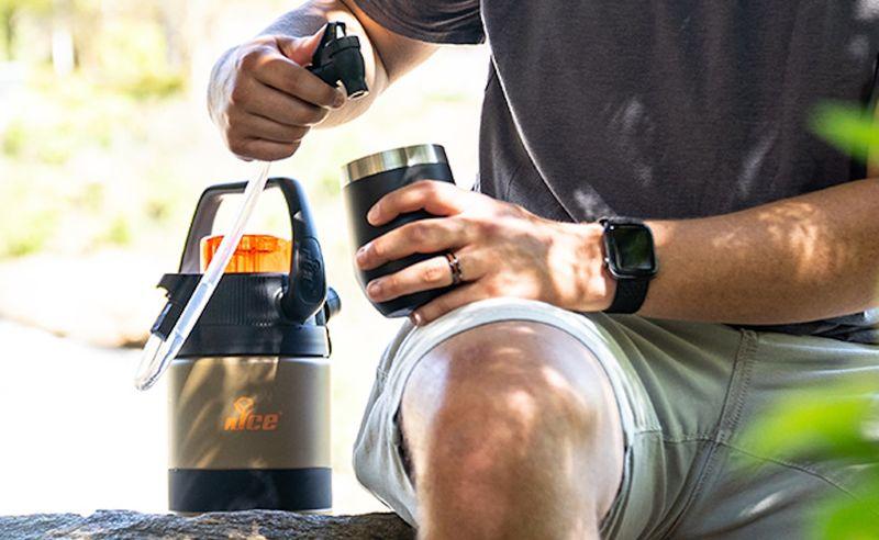 Pressurized Portable Drink Coolers