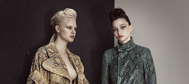 Professional Snakeskin Editorials