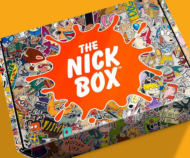 Retro Cartoon Subscription Boxes