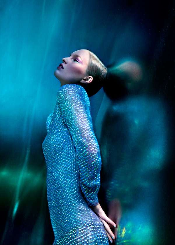 Dark Icy Editorials