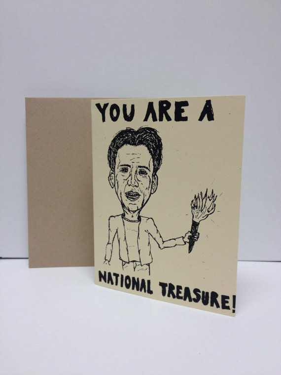Cagey Greeting Cards