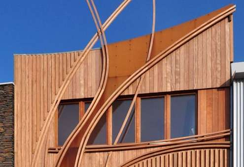 Twisting Timber Abodes