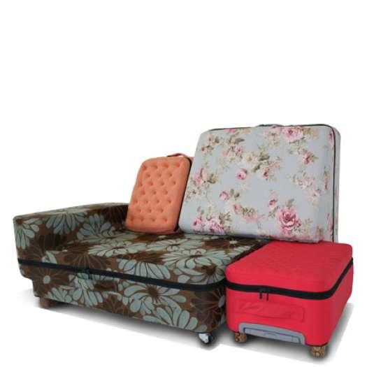 Ingenious Luggage Seating