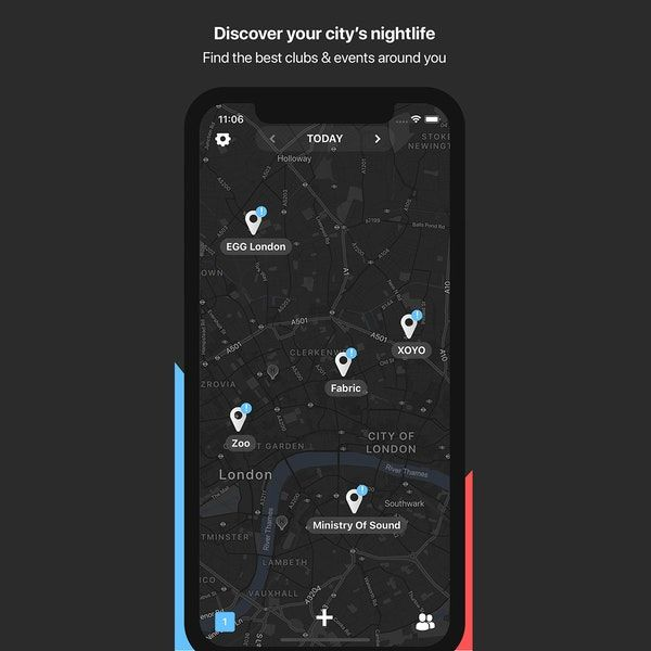 Social Nightlife Planning Apps