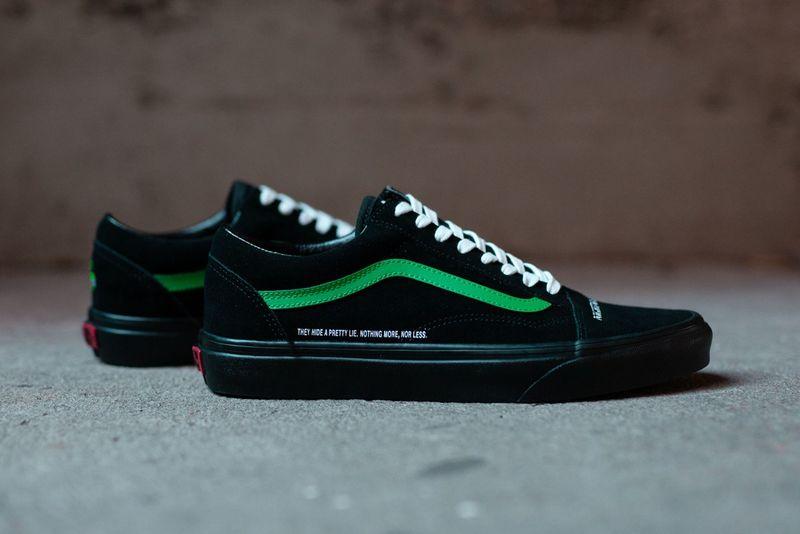 Societal Flaw-Inspired Sneakers