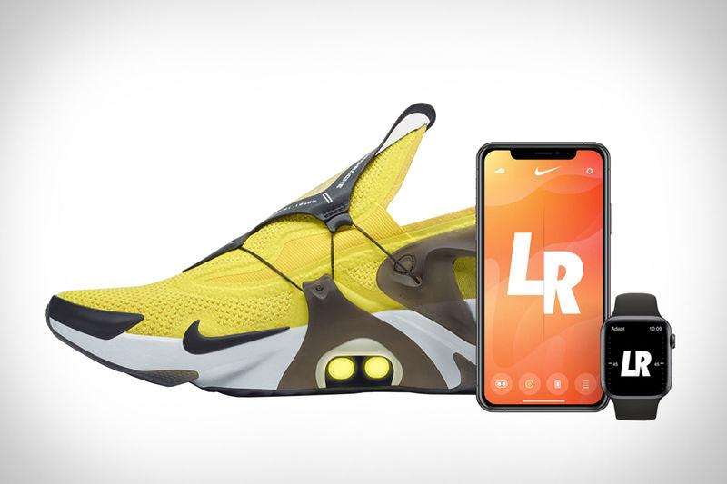 Self-Lacing Huarache Sneakers