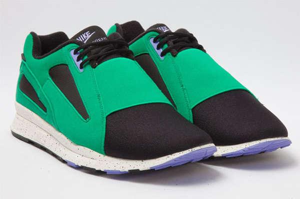 Resurrected Blocked Retro Sneakers