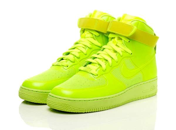 Neon Yellow Nike Tennis Shoes
