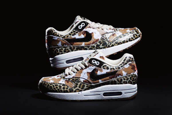 Army Animal Print Sneakers