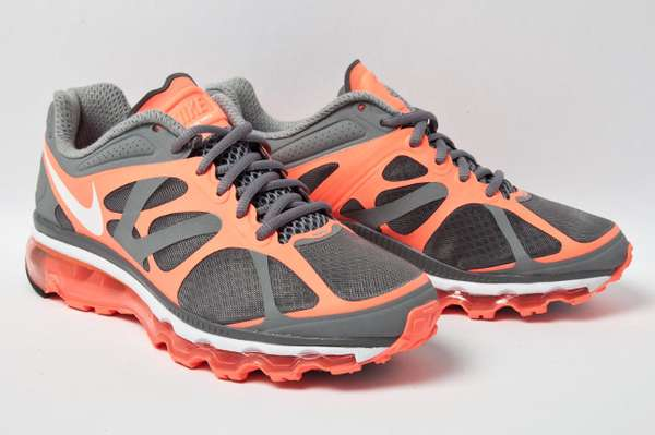 Woven Webbed Kicks : Nike Air Max 2012 Mango