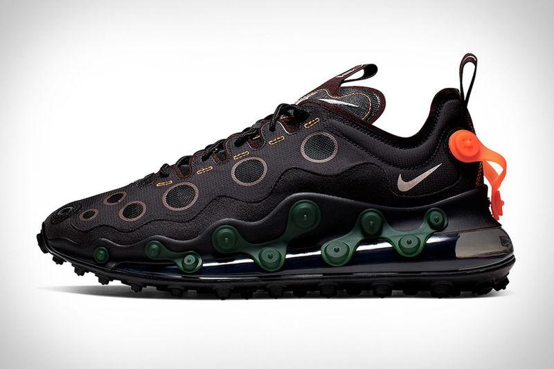 black air max 720 ispa sneakers
