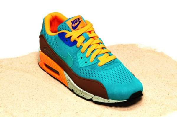 Vibrant Beach-Inspired Runners