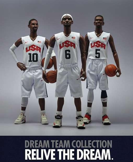 Olympian Basketball Figurines