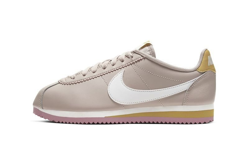 Muted Pink Skate Shoes : nike cortez shoes