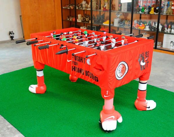 Chinese Warrior Game Tables