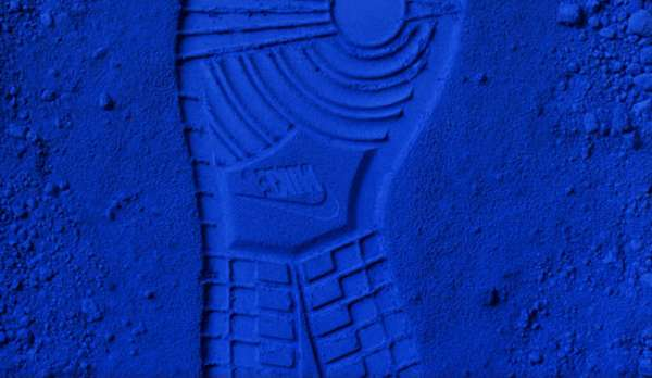 Blue Shoe Art