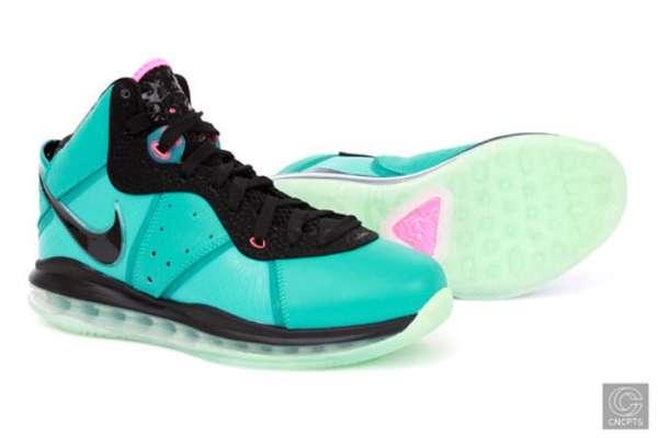 Miami Vice Court Kicks : Nike Lebron