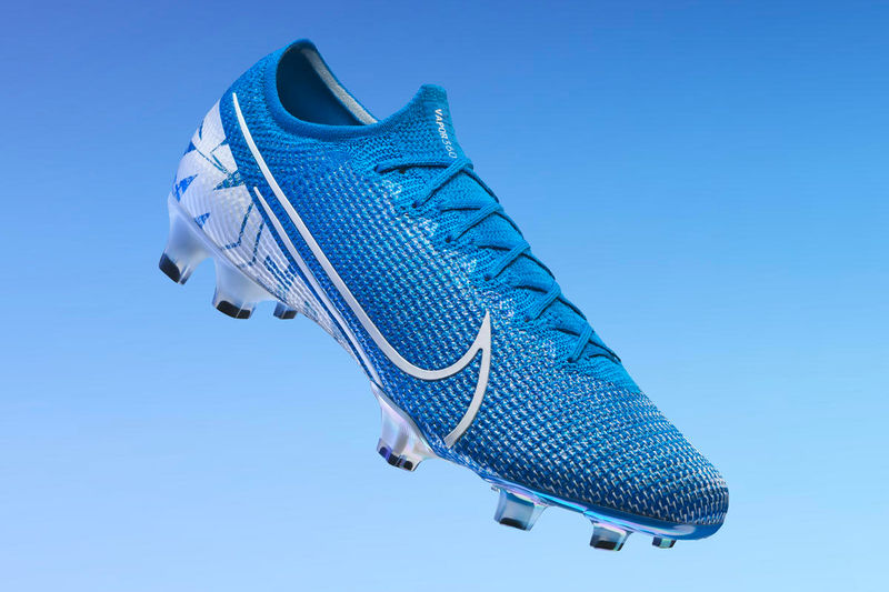 Stiffness-Reducing Cleat Designs - The 2019 Nike Mercurial 360 Has Flywire and Flyknit Technology (TrendHunter.com)