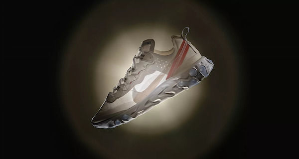Transparent Athletic Sneakers