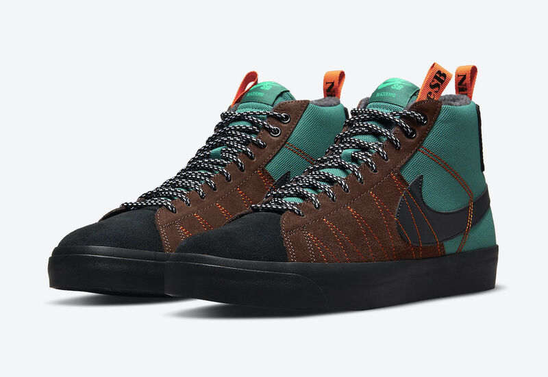 Hiking-Inspired Skate Shoes