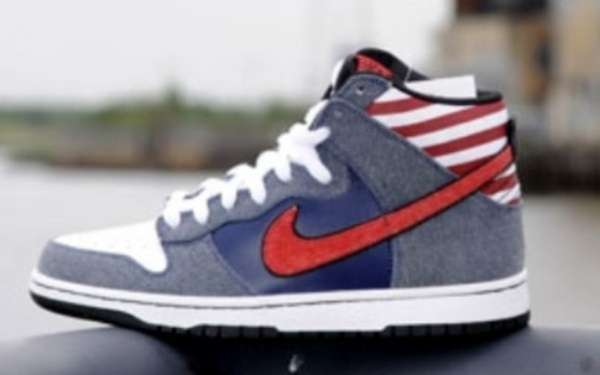 Patriotic Rock High Tops