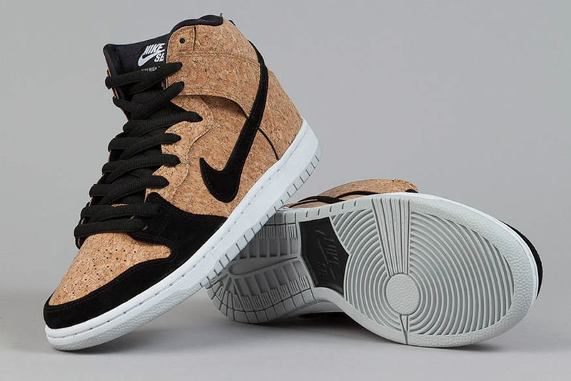 Cork-Accented Eco Sneakers