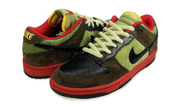 free shipping 9ed0b b576e Veggie Sneakers Nike SB Dunk Low Asparagus Kicks Are for Hea