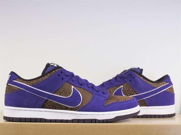 size 40 8bead d4526 Violet Safari Sneakers : Nike SB Dunk Low Premium Purple Safari
