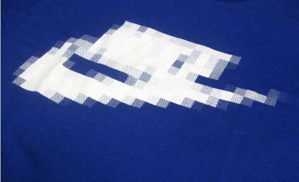 Ironically Blurred Brand Shirts