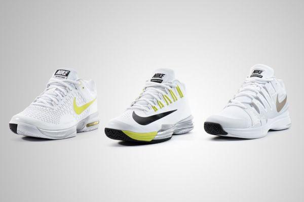 White Wimbledon Sneakers
