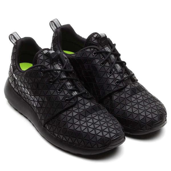 Textural Geometric Footwear